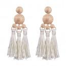Earrings earrings white K991B