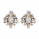 Earrings crystals K1005