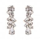 Earrings crystals K1010