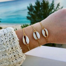 wholesale Jewelry & Watches: Bracelet golden shell B266