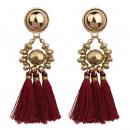 Earrings burgundy K902BOR