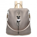 wholesale Backpacks: BACKPACK ELEGANT WITH A ROLLER PL126BR