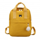 BACKPACK SWEET TO HAND CARE WITH A ROLLER-YELLOW