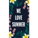 towel PLAŻOWY 170x90 WE LOVE SUMMER REC43WZ13