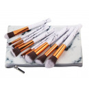 SET OF 10 MAKEUP PAINTS WHITE MARBLE IN THE PACKAG