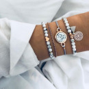Set of 4in1 bracelets BOHO B254