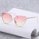 Großhandel Sonnenbrillen: GLAM CAT AUGE GLÄSER PINK PINK GELB NEU OK21WZ