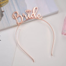 wholesale Hair Accessories: Hair band Bride rose gold O152RZ