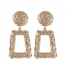 Hanging earrings gold K1032Z