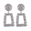 Silver hanging earrings K1032S