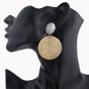 wholesale Jewelry & Watches: Silver hanging earrings K1035