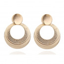wholesale Earrings: Hanging earrings gold K1036