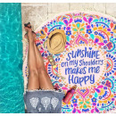 wholesale Home & Living: towel BOHO MANDALA SUNSHINE REC3