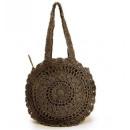 T152BR brown women's handbag