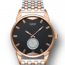 Yazole men's black dial on a bracelet
