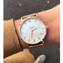 IRIS CLASSY PINK WATCH GOLD ON BROWN WITH