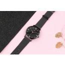 Women's black classy watch on the Z687 bracele