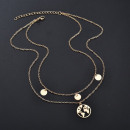 wholesale Necklaces: Necklace multi celebrity earth boho N650