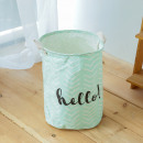 Container basket sack for toys or washing hello mi
