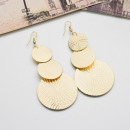 wholesale Jewelry & Watches: Earrings gold circles K1055