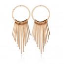 wholesale Earrings: Earrings gold circles K1056Z
