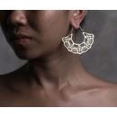 Großhandel Ohrringe: Hängeohrringe aztekisch golden K1076