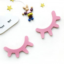 Wall decoration for children's room with pink