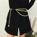 Decorative belt for dresses, gold trousers PAS08Z