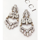 Hanging jewerly earrings decorated with K1020