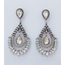 Hanging jewerly earrings decorated with K1021B