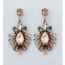 Hanging jewerly earrings decorated with K1022Z