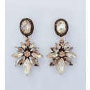 Hanging jewerly earrings decorated with K1028Z