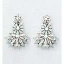 Earrings hanging jet decorated with K1029B