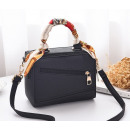 Black bag with T159CZ scarf