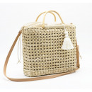 Wicker bag with a contribution of beauty T160