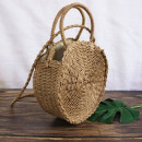 Wicker bag round beautiful T165