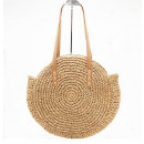 Wicker bag round beautiful T166