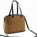 Wicker bag shopper bag beauty T167