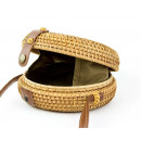 wholesale Bags & Travel accessories: Wicker bag box with ribbon round beautiful