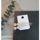 Hairpins set 2 pcs pearls SP50
