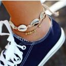 Bracelet on the foot silver B325