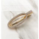 Hairpin gold crystal SP73Z
