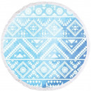 towel beach round BOHO geometry REC35WZ55