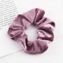wholesale Hair Accessories: Elastic band hair dark pink GUM2CR