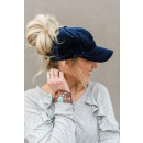 wholesale Headgear: Women's pony cap VELVET collection