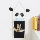 Hanging toy organizer PANDA OR33