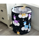 Container for toys basket, laundry bag sky unic