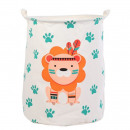 Container for toys basket, laundry bag OR2W lion