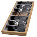 Casket 7 compartments for glasses or PD accessorie