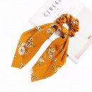 wholesale Hair Accessories: Hair band long yellow scarf flowers PIN UP